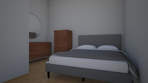 First Bedroom Design - Bedroom  - by gracegromada