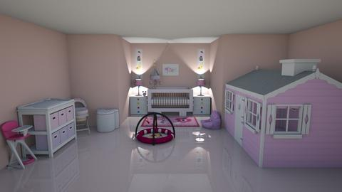 ROSA - Feminine - Kids room  - by kellynazha