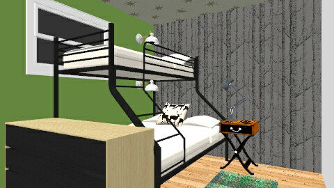 2room - Bedroom - by pinniped
