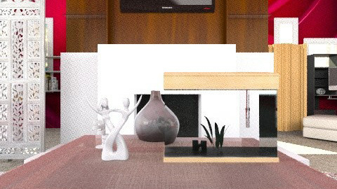 Modern Apparel Not Done - Modern - Living room - by dancer100