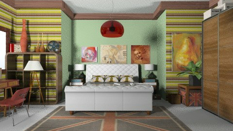 rusty - Rustic - Bedroom  - by decorj