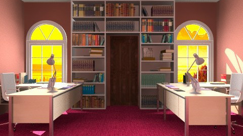 small comfortably office - Office - by mary_01