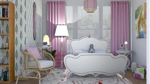 Feminine montage - Feminine - Bedroom  - by augustmoon