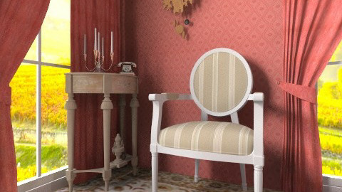 Red curtain - Classic - by hetregent