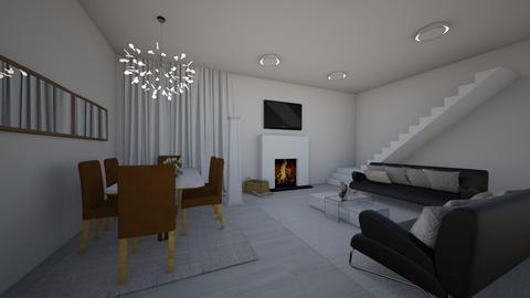 moms living room - Living room  - by Joshita Arora