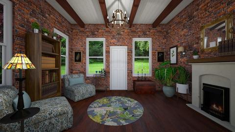 Camden - Living room - by VeroDale