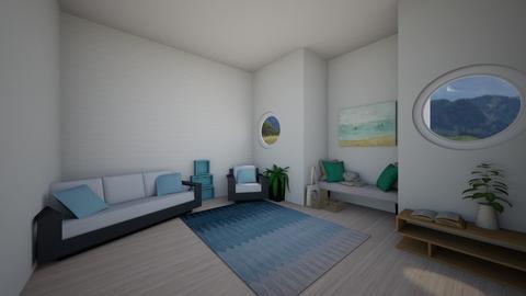 Perfect Getaway - Rustic - Living room  - by ballerinasnow36