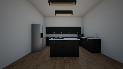 retro kitchen - Retro - Kitchen  - by Georgiaandres