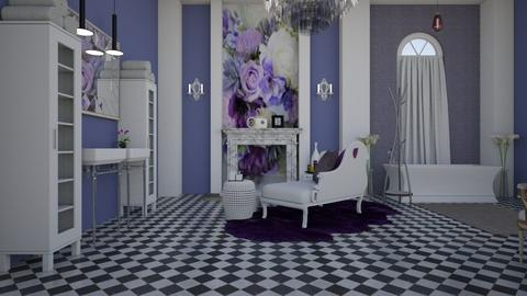 Lilac 001 - Vintage - Bathroom - by decordiva1