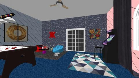 sarais gameroom  - Retro - by saraig