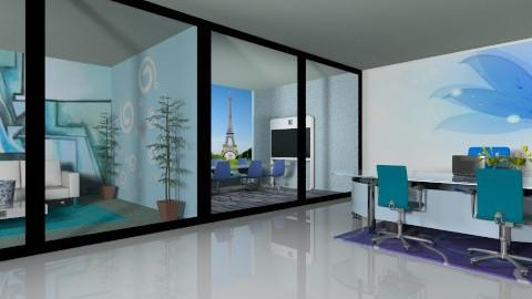 Cozy cabin work meet rest - Modern - Office  - by armeen_hedayat