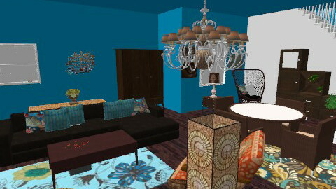 Room - Vintage - Living room  - by Mary Swanson