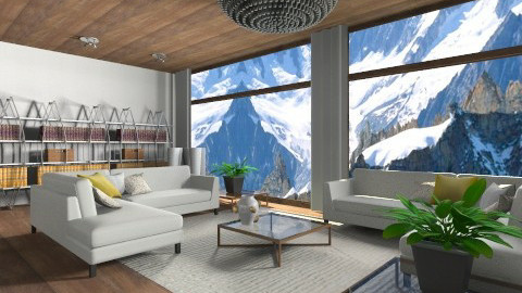 Relaxe - Retro - Living room  - by Nando17