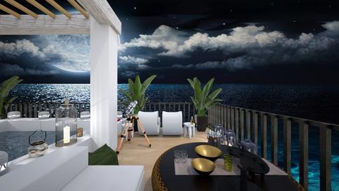 rooftop terrace split 7 - by rechnaya