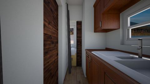 Tiny House - Kitchen  - by SammyJPili