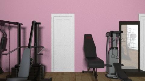 gym - by erofili