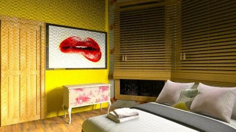 bedroom vintage - Vintage - Bedroom  - by kelly ketly