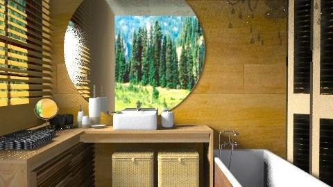Banho | - Bathroom  - by sahfs