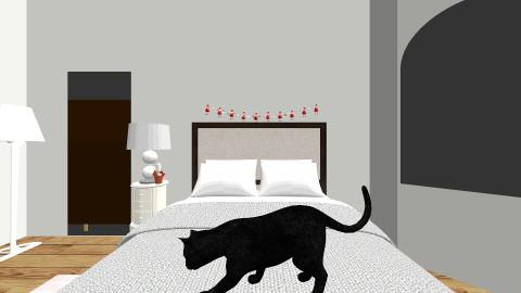 New Room Idea - Christmas - Bedroom  - by Aminilaina