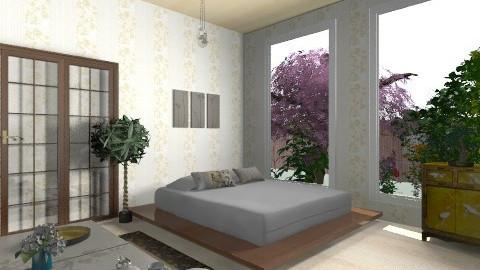 japan - Minimal - Bedroom  - by helindir