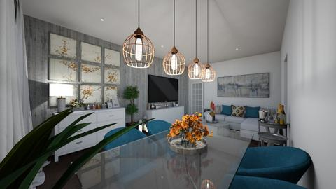 nns lvng - Masculine - Living room  - by JBL8
