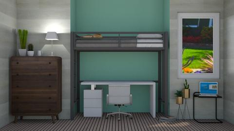 Made with designkitty31 - Modern - Bedroom  - by sophiefleah