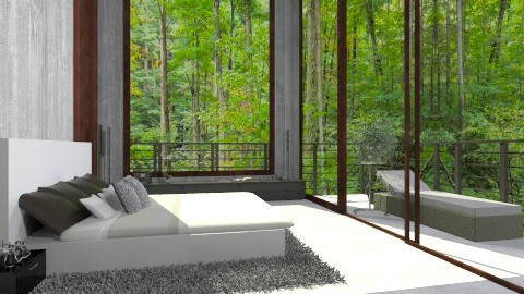 forest 2 - Modern - Bedroom - by fisgalor1996