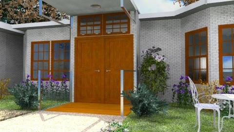 House and garage - Modern - Garden  - by Bibiche
