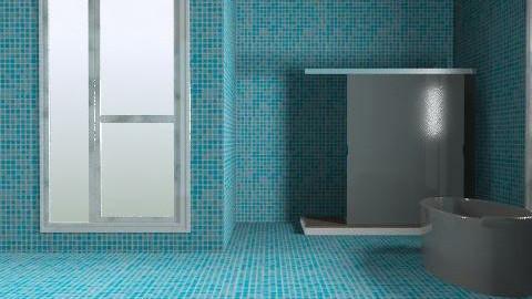 Ocean - Bathroom - by alexchico