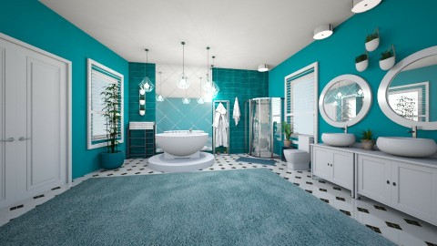 aqua spa - Glamour - Bathroom  - by kla