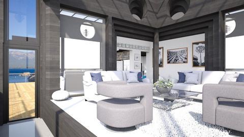 AV Sun Room - Living room  - by Amyz625