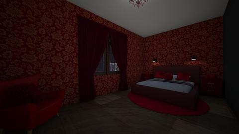 hotelroom - Bedroom  - by Emmachiavelique