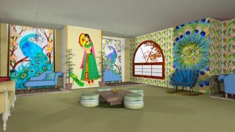 zenana peacock room - Classic - by armeen_hedayat