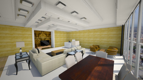 Westin - Vintage - Living room  - by mohak shamani