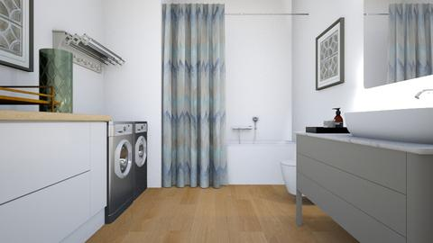 Rental Bath - Modern - Bathroom  - by millerfam