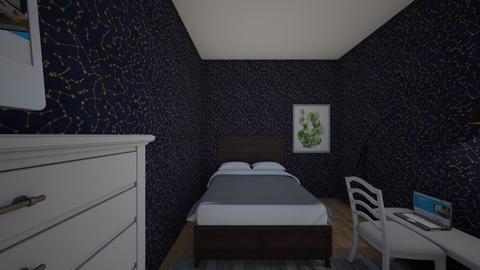 sypialnia - Modern - Bedroom  - by  Zuziapopo1
