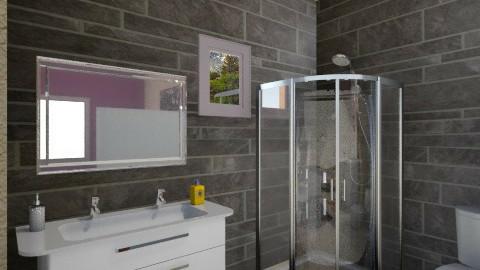 studio bathroom - Modern - Bathroom  - by Sophia Giann