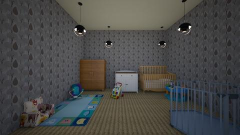 Nersury - Modern - Kids room  - by lannahuffman21