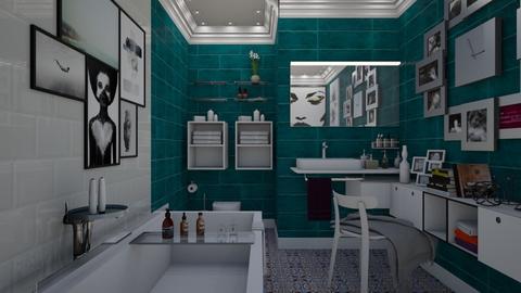 323 - Bathroom - by Dorrit