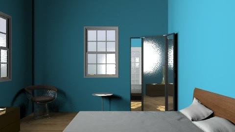 Design Journal2 - Retro - Bedroom  - by Shannon Bishoff