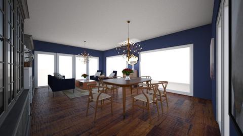 dining room 123456 - by mitsevam