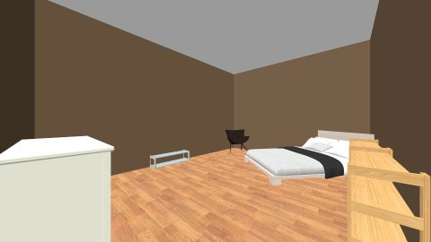 my bedroom - by Justin Lunn
