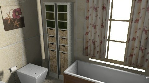 my bathroom - Glamour - Bathroom  - by sally89