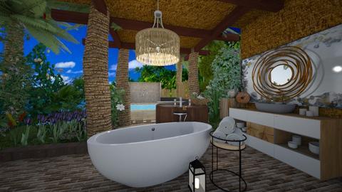 Island Bathroom - by NinjaKidd22431