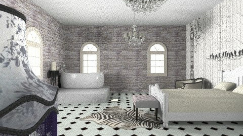 Bedroom Macca - Glamour - Bathroom  - by Lady MJ