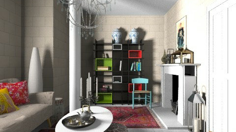 Orient Country - Vintage - Bathroom  - by 3rdfloor