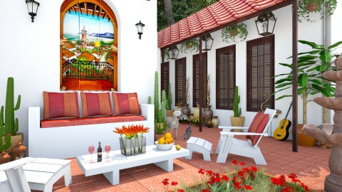 Design 250 Arizona Living - Garden  - by Daisy320