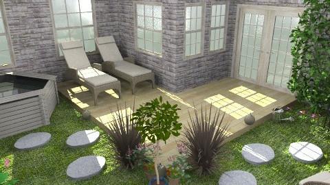 1st garden - Modern - Garden - by mariannee1