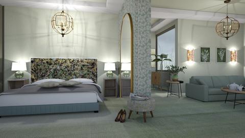 M_ Sage - Bedroom  - by milyca8