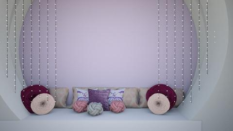 Girls corner - Glamour - Bedroom  - by Agamanta